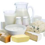 Assortiment de produits laitiers