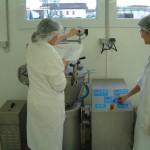 deux femmes dans Laboratoire