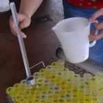 Controle laitier échantillons