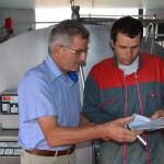 conseiller vaches tank à lait fournisseur