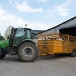 tracteur remorque matériel