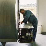 Chauffeur collecteur lait tank