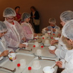 Enfants Atelier moulage du beurre