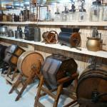 Barattes à beurre musée