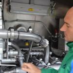 camion lait collecteur analyse