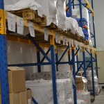stock marchandise stockage fromages rayonnage pallettes