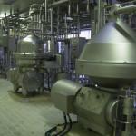 Cuves de beurre usine