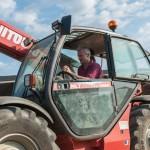 Tracteur matériel éleveur
