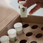 Controle laitier échantillons 1
