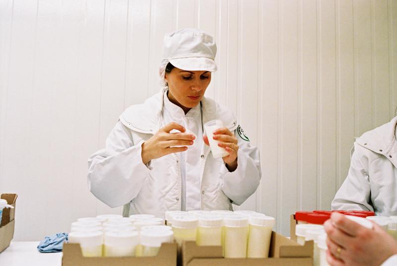 Laboratoire, analyse yaourt