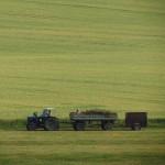 agriculture tracteur moisson champs