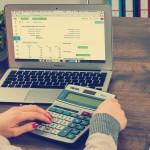 ordinateur calculatrice gestion argent