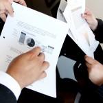 statistiques schéma papier mains