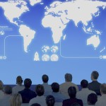Conférence salle micro formation écran