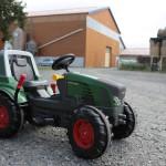 Tracteur pédales enfant ferme des délices