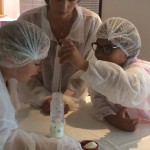 Atelier enfants fabrication beurre