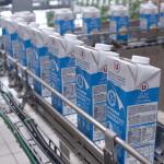 chaine briques de lait usine