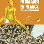 Affiche 'Power Cows' Fromage