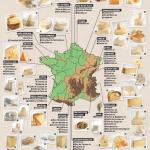 Les fromages par région