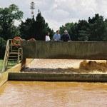 Usine de traitement des eaux, environement