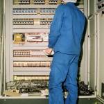 Technicien-Maintenance, armoire électrique