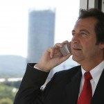 business homme d'affaire, costume, téléphone