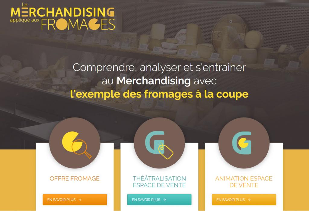 Merchandising et fromages : Accueil