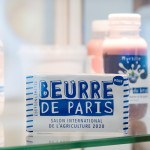 Plaquette de beurre de Paris, vitrine, salon de l'agriculture