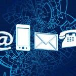 Logos Nous contacter, téléphone, portable